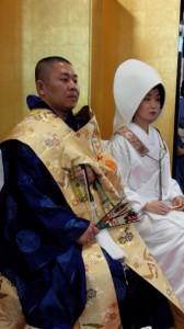 結婚奉告法要 築地本願寺1 HP