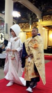 結婚奉告法要 築地本願寺 2 HP
