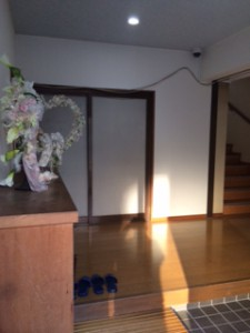 正源寺 玄関